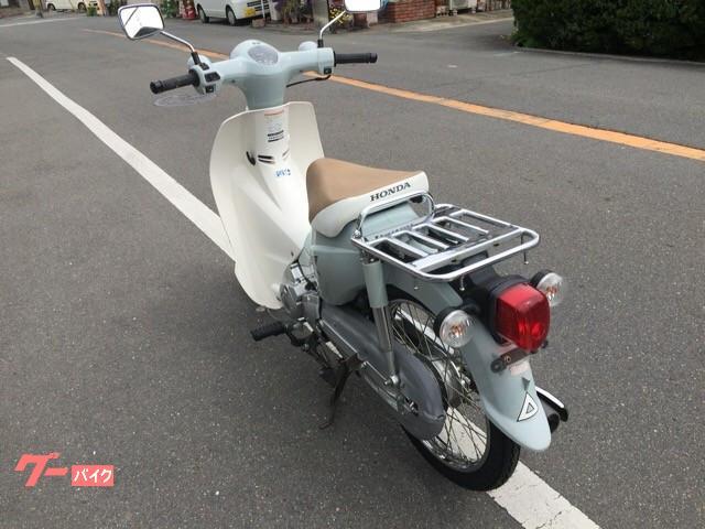 ホンダ スーパーカブ110 JA07 プコブルー 前後タイヤバッテリー交換済みの画像(大阪府