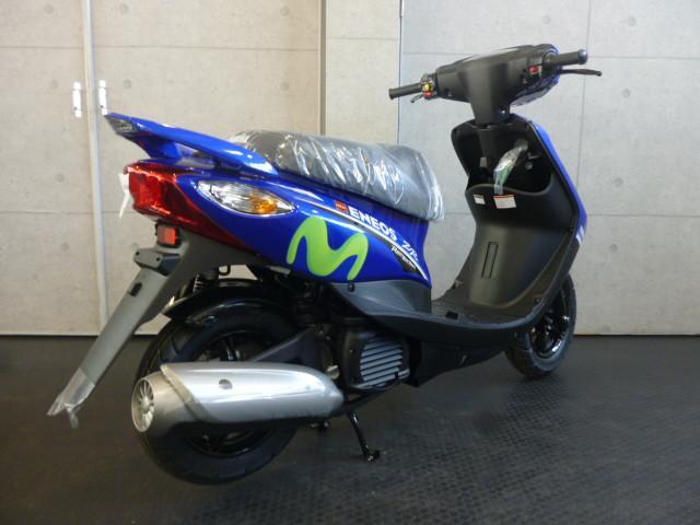 ヤマハ JOG ZR モビスターエディション 限定1500台モデルの画像(大阪府