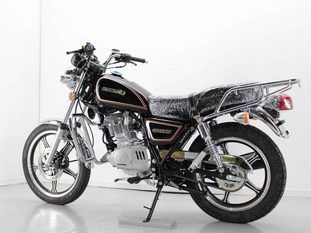 スズキ GN125-2F 新型モデル キック付き エンジンガード付きの画像(兵庫県