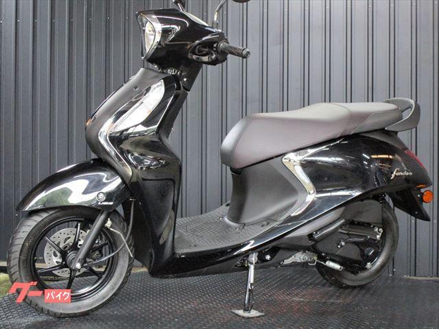 ヤマハ ファッシーノ 125Fi アイドリングストップ搭載 ブラックカラーの画像(兵庫県