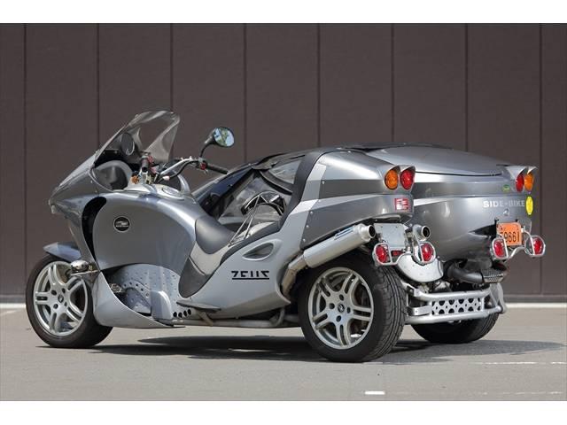 輸入車・他メーカー サイドバイク メガゼウス 4人乗り登録の画像(京都府