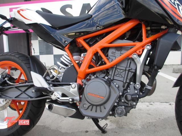 KTM 125デュークの画像(京都府