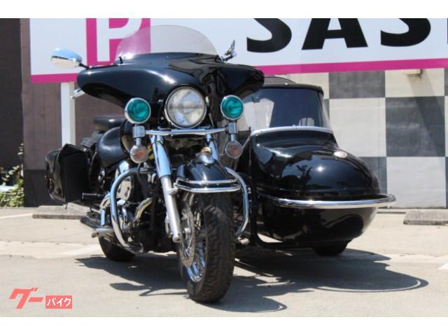 ヤマハ ドラッグスター400クラシックサイドカーの画像(京都府