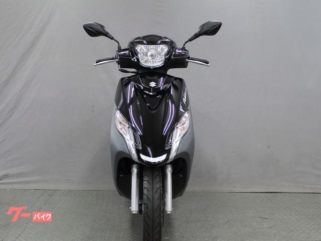 スズキ アドレス125 フラットシートモデル 最新 新車の画像(大阪府