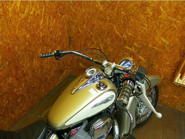 ヤマハ ドラッグスター250 ディープフェンダー 2本出しガトリング フルカスタムの画像(大阪府