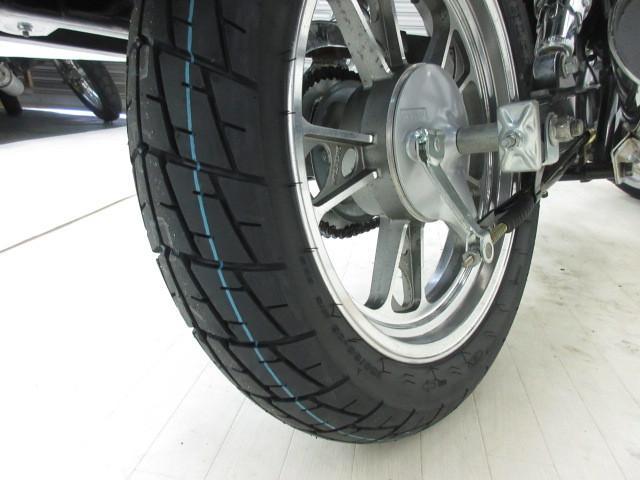 スズキ GZ125HS ノーマル仕様 前後タイヤ新品の画像(兵庫県
