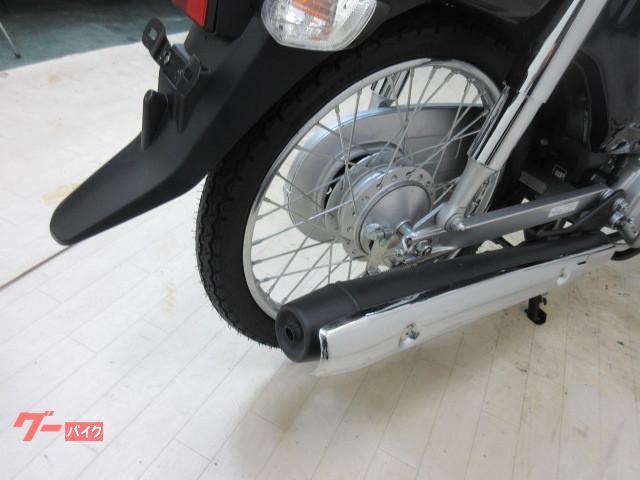 ホンダ スーパーカブ50 AA04型 リアボックス付 前後タイヤ新品の画像(兵庫県