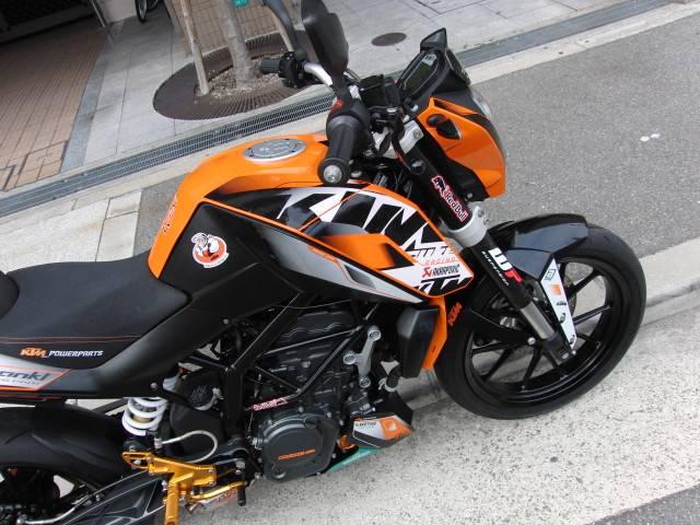 KTM 200デューク カスタム 正規輸入車の画像(大阪府