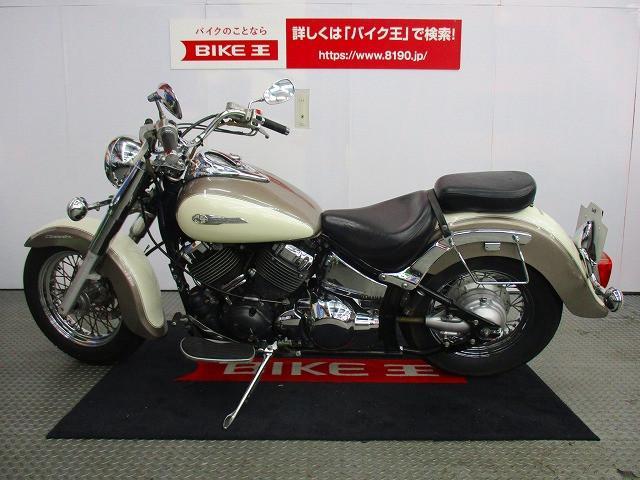 ヤマハ ドラッグスター400クラシック サイドバッグサポートの画像(兵庫県