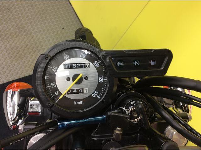 ヤマハ トリッカー インジェクションモデル 時計の画像(兵庫県