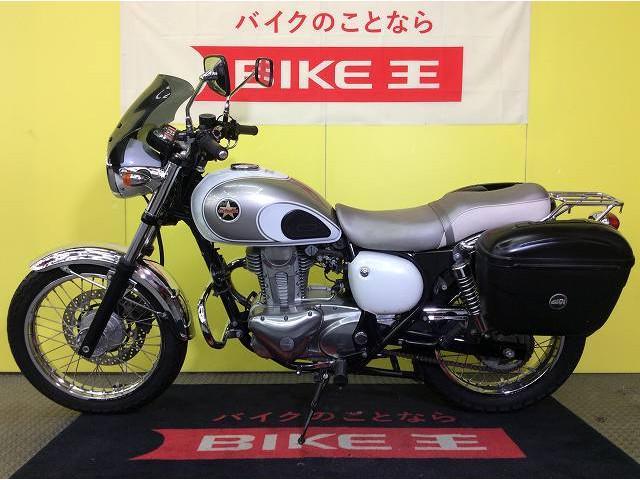 カワサキ エストレヤ パニアケース リアキャリア エンジンガードの画像(兵庫県