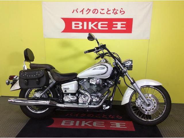 ヤマハ ドラッグスター250 サイドバッグ バックレストの画像(兵庫県