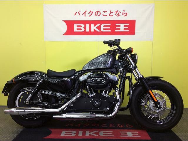 HARLEY-DAVIDSON XL1200X フォーティエイト エンジンガード サイドバッグの画像(兵庫県