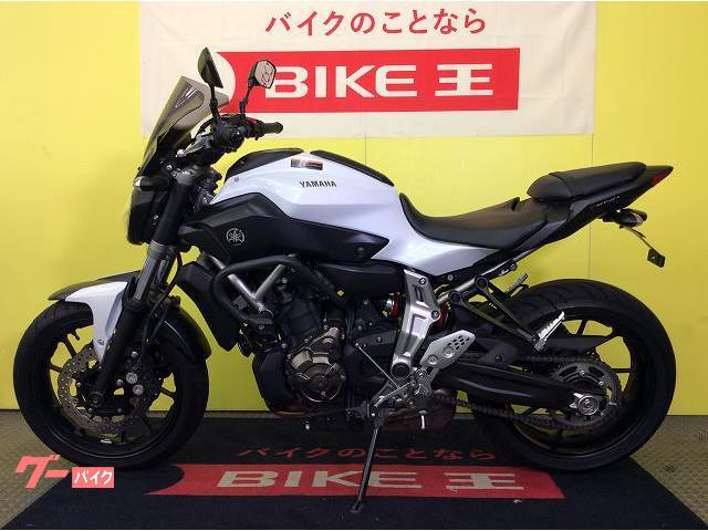 ヤマハ MT-07 スクリーン エンジンガードの画像(兵庫県