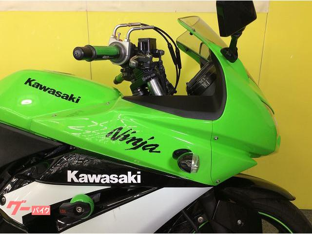 カワサキ Ninja 250R エンジンスライダー スロットルホルダーの画像(兵庫県