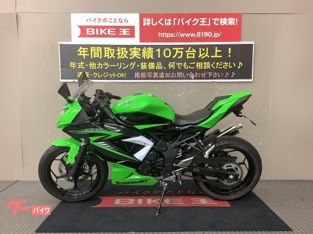 カワサキ Ninja 250SL 2015年モデル ノジマ製スリップオンマフラー リアフェンダーレスの画像(兵庫県