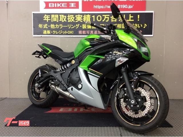 カワサキ Ninja 400 スペシャルエディション 2014年モデル ナビ フェンダーレス メットホルダー USB 他カスタムの画像(兵庫県