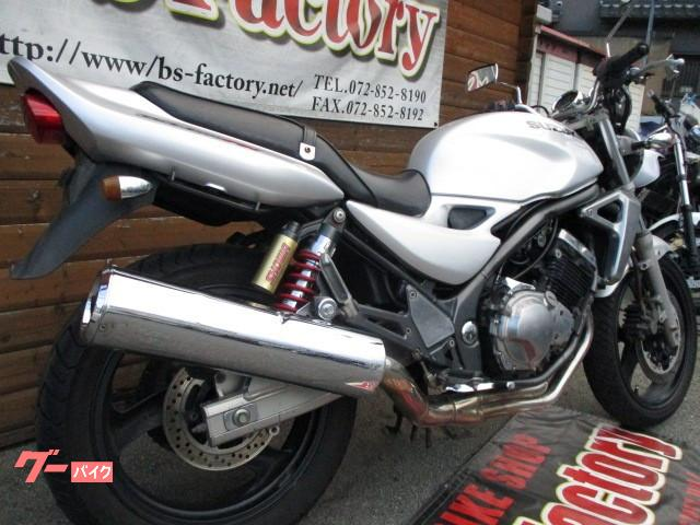 スズキ GSX250FX 40馬力 水冷4気筒エンジン搭載 2003年モデルの画像(大阪府