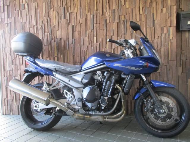 スズキ Bandit1250S ABS キャリヤGIVIボックス ETC付きの画像(大阪府