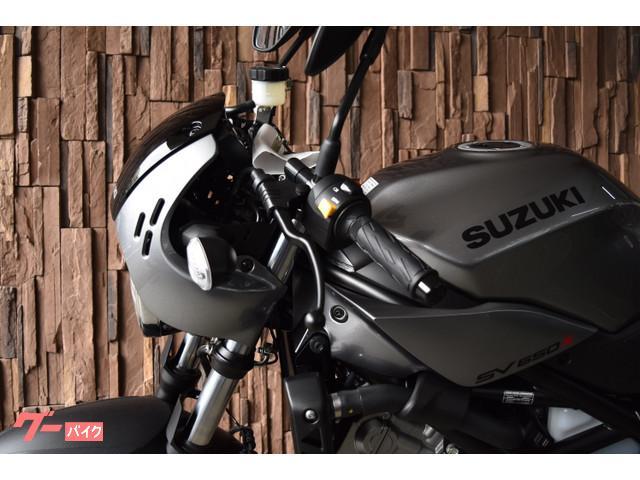 スズキ SV650X ABS 2019年モデル 4ポットキャリパーの画像(大阪府