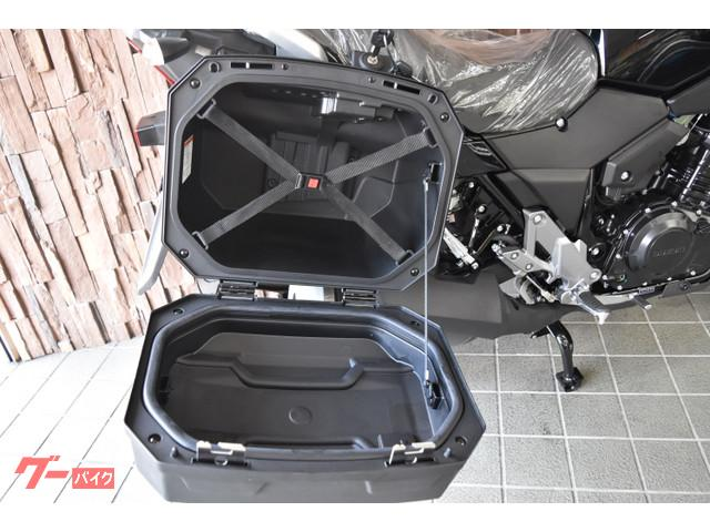 スズキ V-ストローム250  3ラゲッジシステム付き 2019年モデルの画像(大阪府