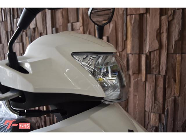 スズキ アドレス125 フラットシート仕様 2020年最新モデル SEPエンジンの画像(大阪府
