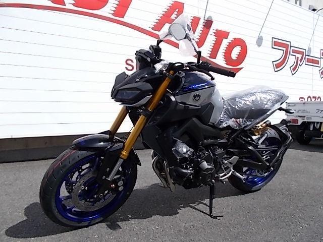 ヤマハ MT-09 SP オーリンズサスペンションの画像(大阪府