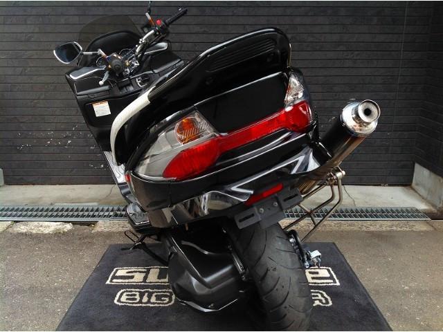 スズキ スカイウェイブ250 タイプM 634カチアゲマフラー フレアステップボードの画像(大阪府