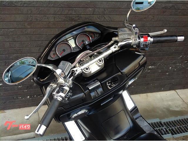 スズキ スカイウェイブ250 SS カスタムマフラー アルミステップボードの画像(大阪府