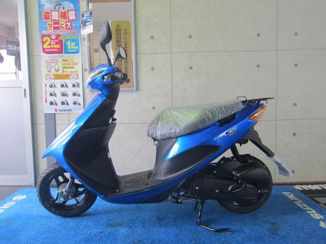 スズキ アドレスV50 SEP 新型 新色ブルーの画像(大阪府