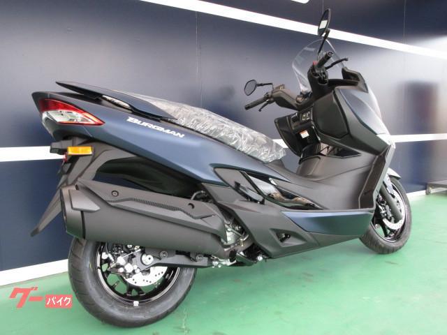 スズキ バーグマン400 ABS M0 マットステラブルーメタリックの画像(大阪府