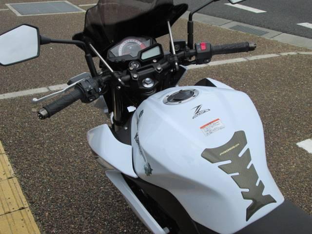 カワサキ Z250 MRA製大型スクリーンの画像(兵庫県