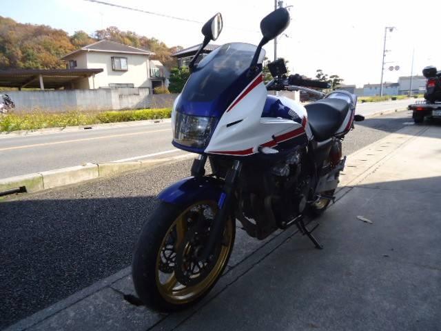 ホンダ CB400Super ボルドール マフラー改の画像(兵庫県