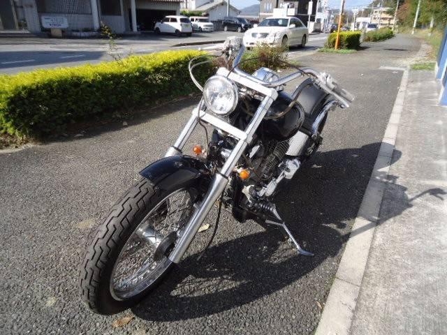 ヤマハ ドラッグスター400 マフラー改の画像(兵庫県