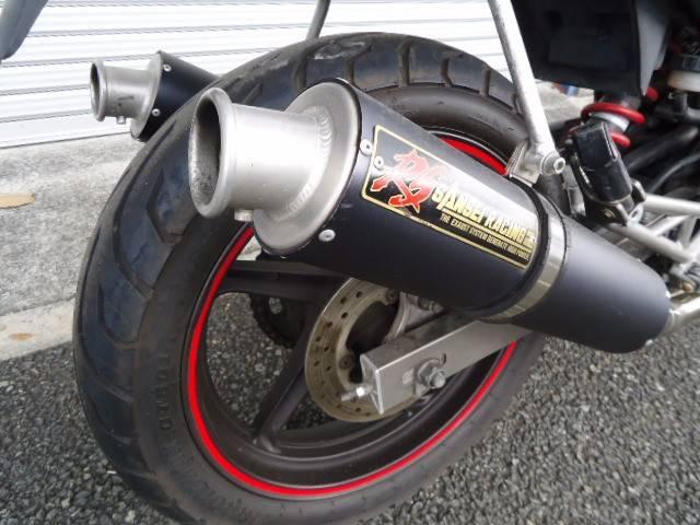 ホンダ VTR250 マフラー改の画像(兵庫県
