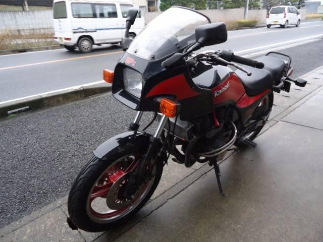 カワサキ GPZ400F マフラー改の画像(兵庫県