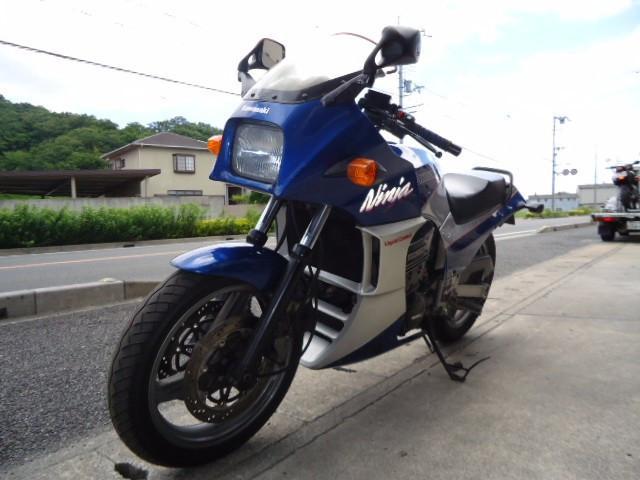 カワサキ GPZ900R マフラー改の画像(兵庫県