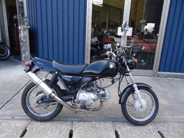 スズキ GS50 マフラー改の画像(兵庫県