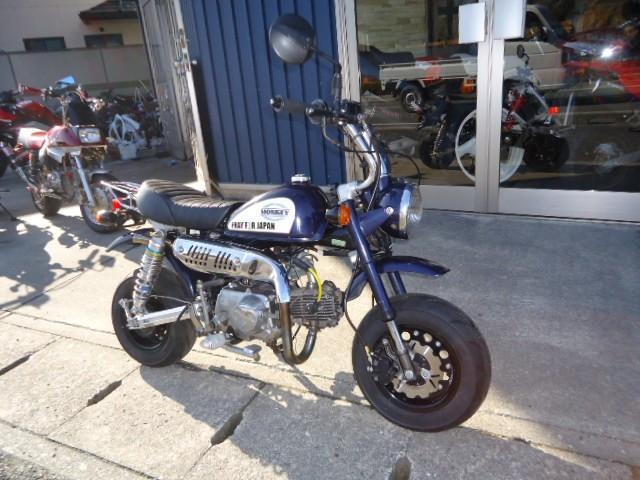 ホンダ モンキー 88ccボアアップ フルカスタムの画像(兵庫県