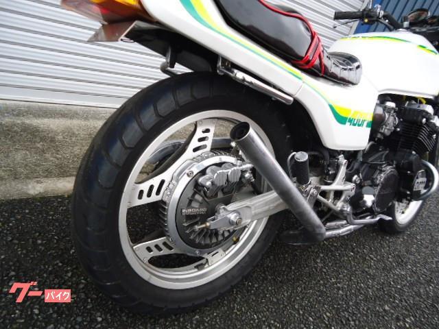 ホンダ CBX400F マフラー シート 国内モデルの画像(兵庫県
