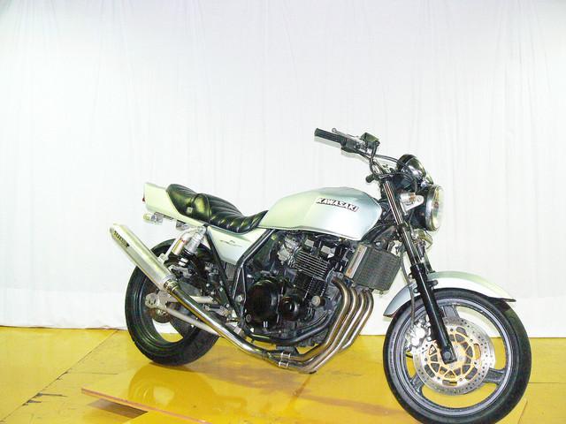 カワサキ ZRX400-II マフラー改 98年モデル GOOバイク鑑定済車の画像(大阪府