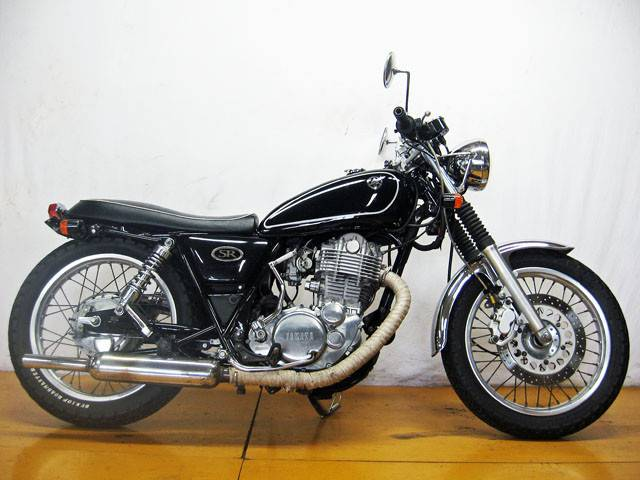 ヤマハ SR400カスタム 03年モデル GOOバイク鑑定済車の画像(大阪府