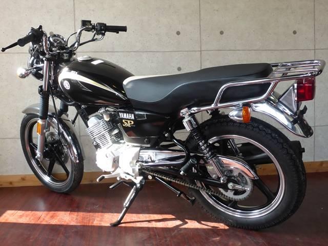 ヤマハ YB125SP クラシカルSRスタイル ブラックの画像(大阪府