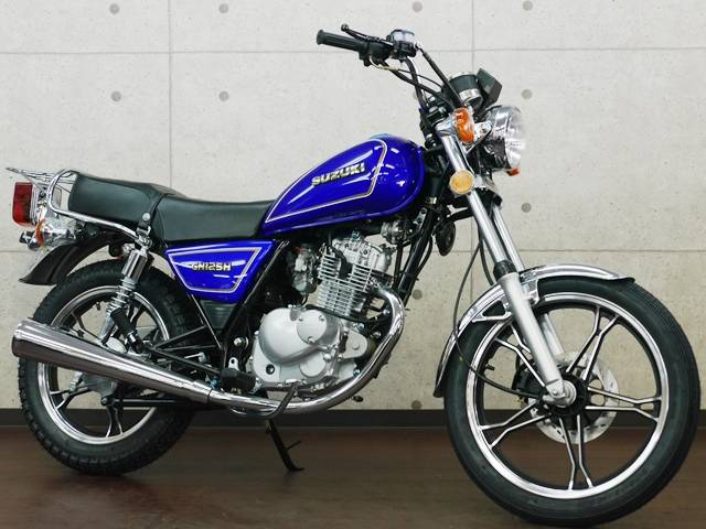 GN125H Newカラーバージョン 新車
