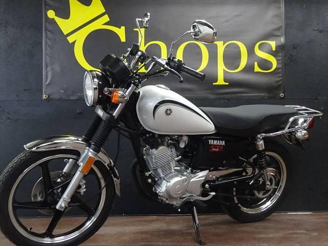 ヤマハ YB125SP ホワイト SRクラシックスタイル ホワイトの画像(大阪府