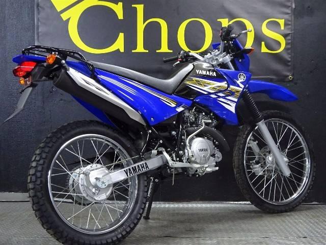 ヤマハ XTZ125 ロイヤルブルーの画像(大阪府