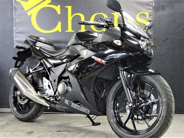 スズキ GSX250R 2017モデルパールネブラーブラックの画像(大阪府