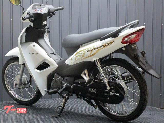 ホンダ WAVEアルファ110 輸入新車 ホワイトカラーの画像(大阪府
