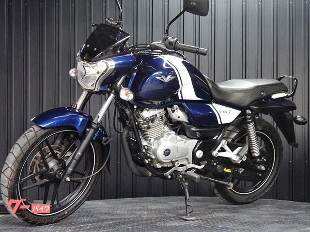 BAJAJ V15 新車 ブルーホワイトラインの画像(大阪府