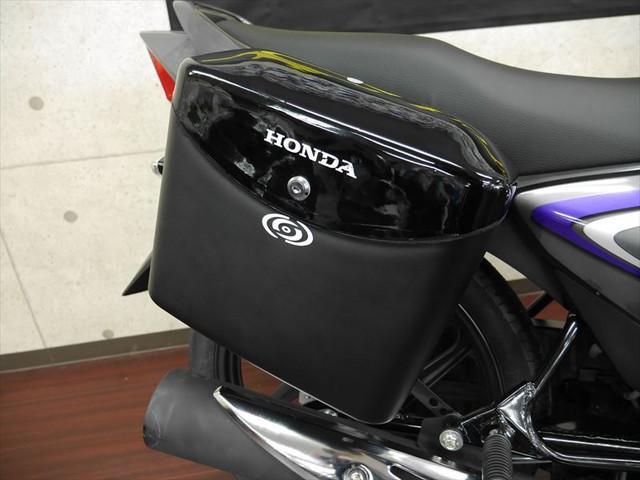 ホンダ CBF125 SHINE サイドボックス付き 新車の画像(大阪府